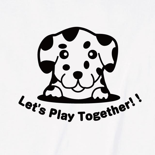 ダルメシアンロゴプリントTシャツ