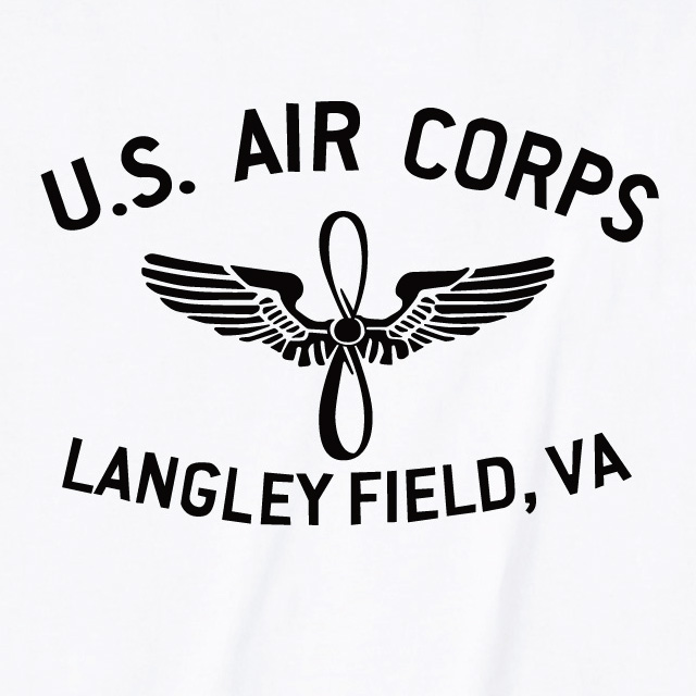 U.S. AIR CORPS ロゴTシャツ