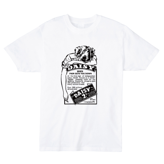 DAISYプリントTシャツ