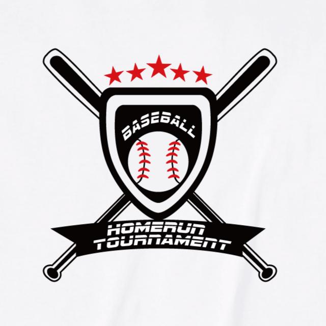 ベースボールロゴプリントTシャツ