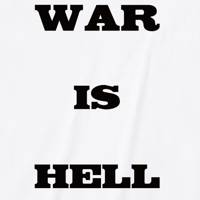 WAR IS HELL ロゴTシャツ