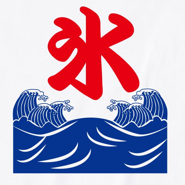 漢字プリントTシャツ