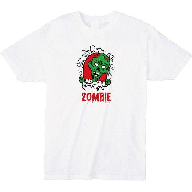 ゾンビプリントTシャツ