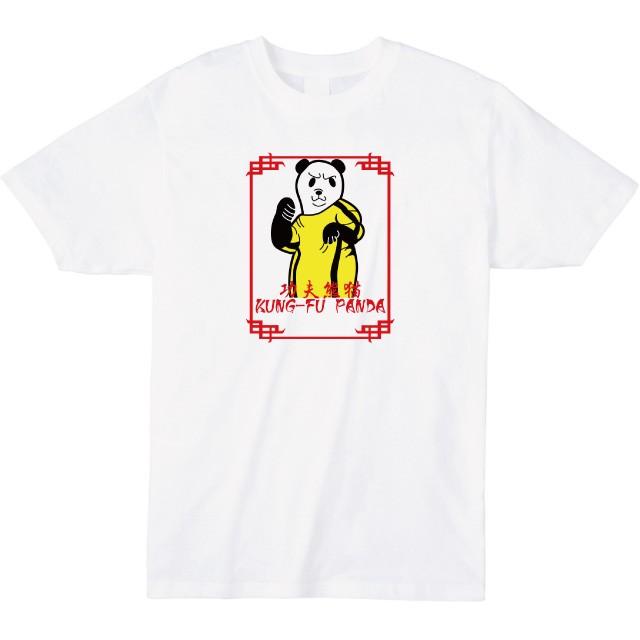 カンフーパンダプリントTシャツ