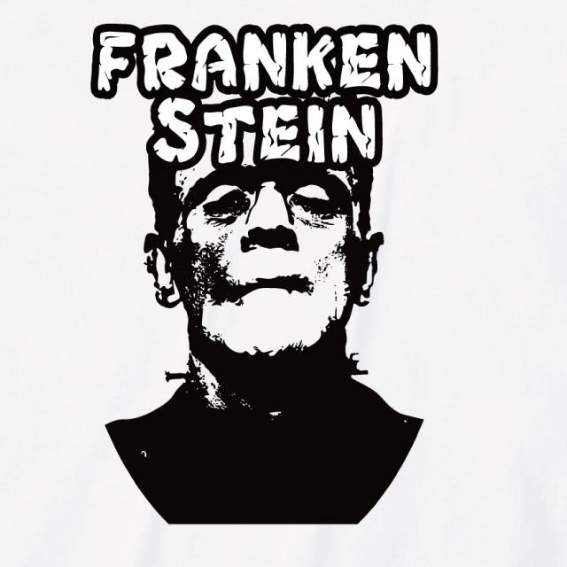 フランケンシュタインtシャツ