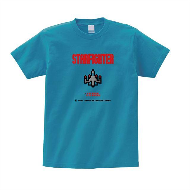 レトロゲームプリントTシャツ