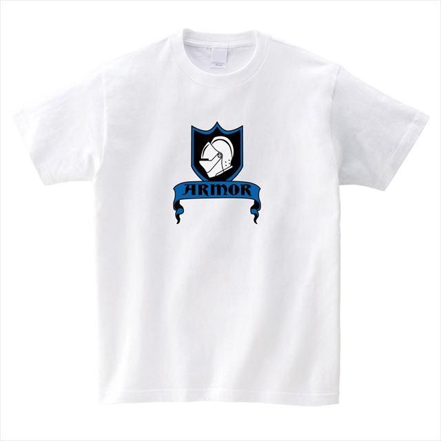 甲冑ロゴtシャツ