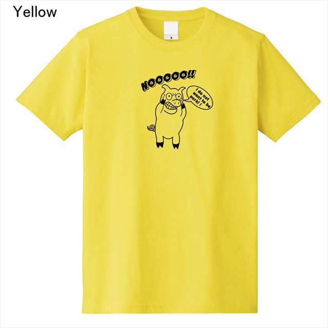 ブタプリントTシャツ