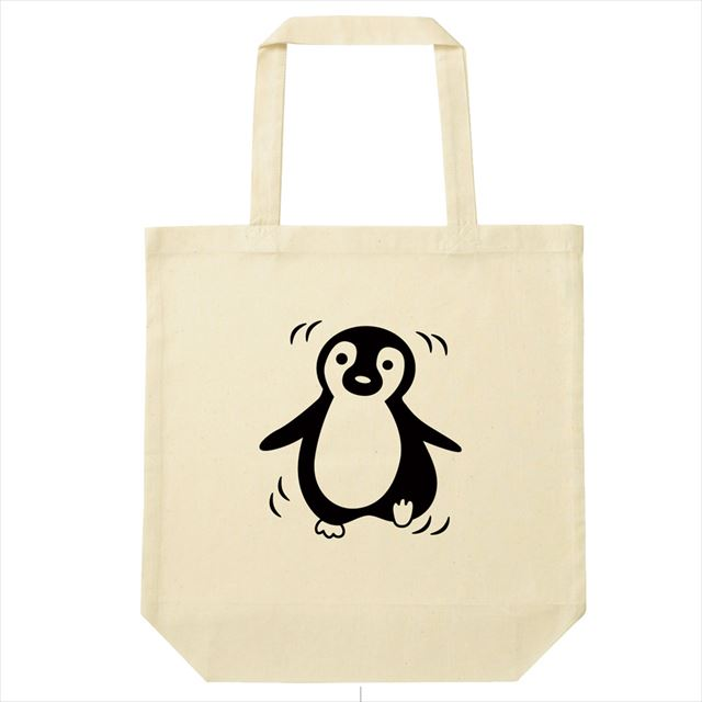 ペンギンプリントTシャツ コットントートバック付き