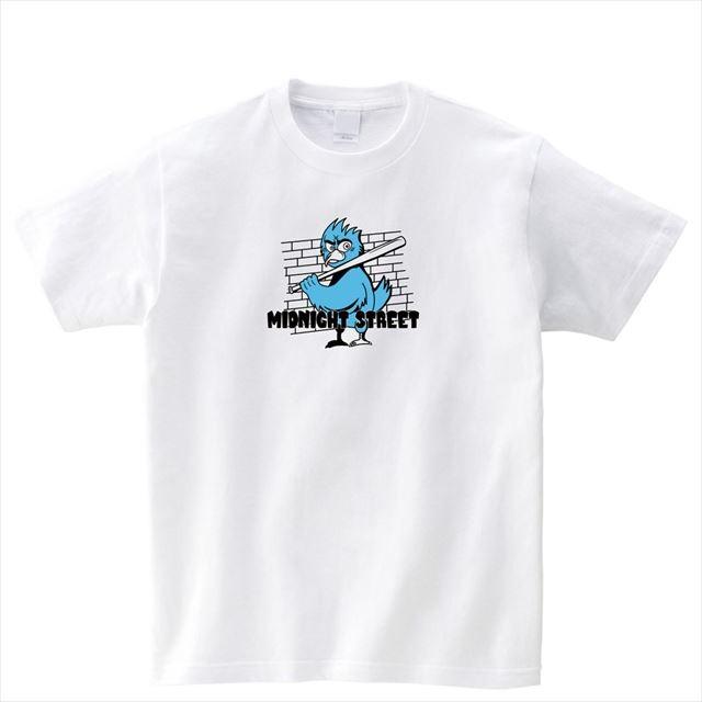 ギャング鳥プリントTシャツ