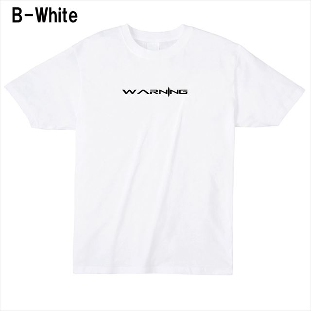WARNINGロゴTシャツ