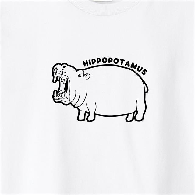 カバプリントTシャツ
