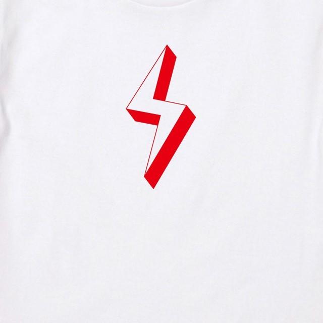 イナズママークプリントTシャツ