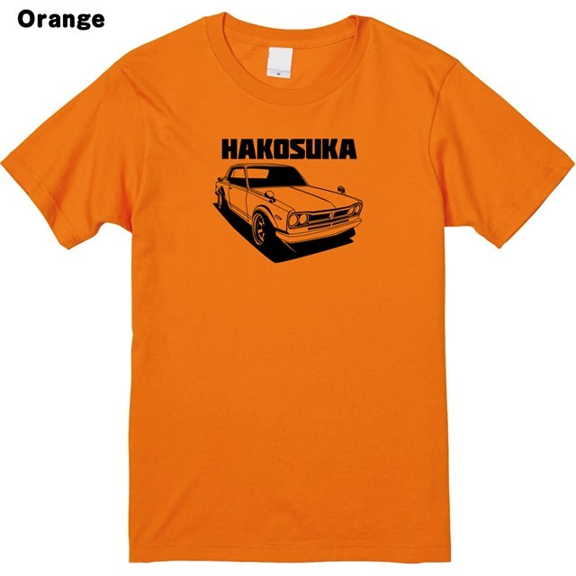 HAKOSUKAロゴプリントTシャツ