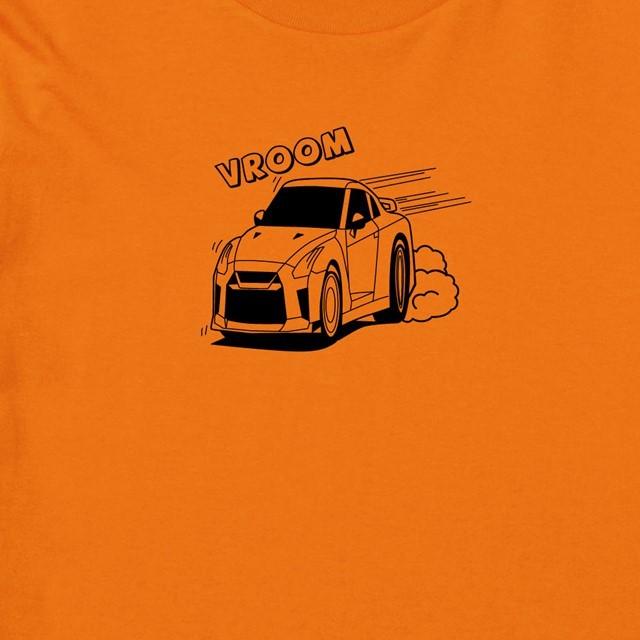 VROOMロゴプリントTシャツ