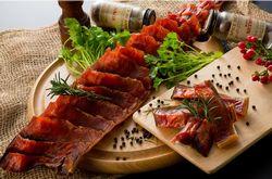 鮭の燻製ユーコンサーモン鮭トバ