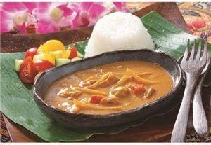 麻布タカノ カフェ飯シ バリ風チキンカレー