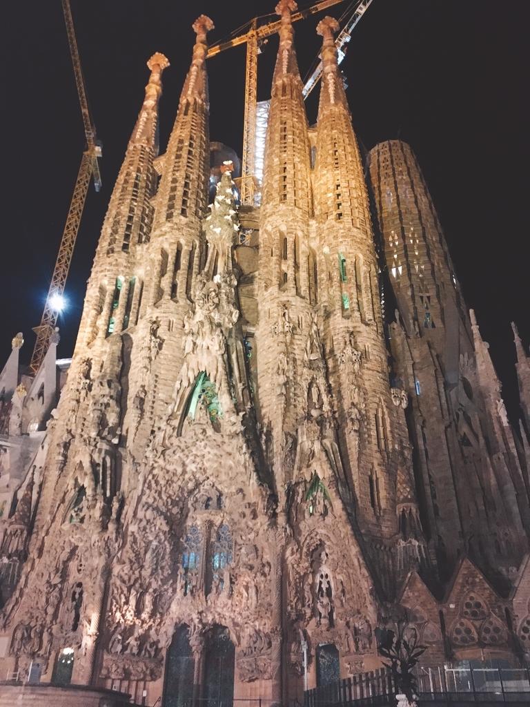 サクラダファミリア バルセロナ スペイン