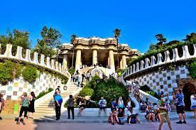グエル公園 バルセロナ スペイン