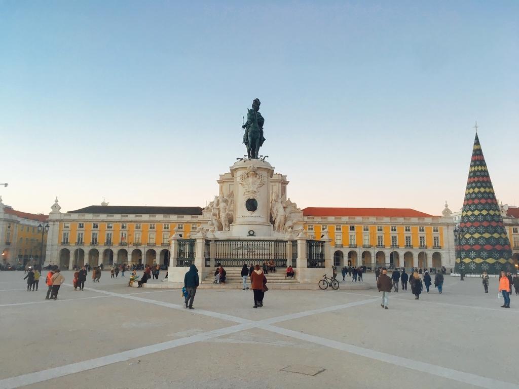 コルメシオ広場 リスボン