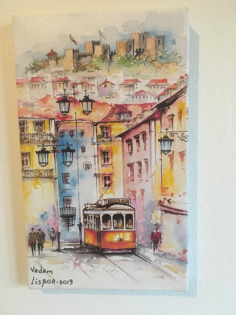 リスボン 絵画