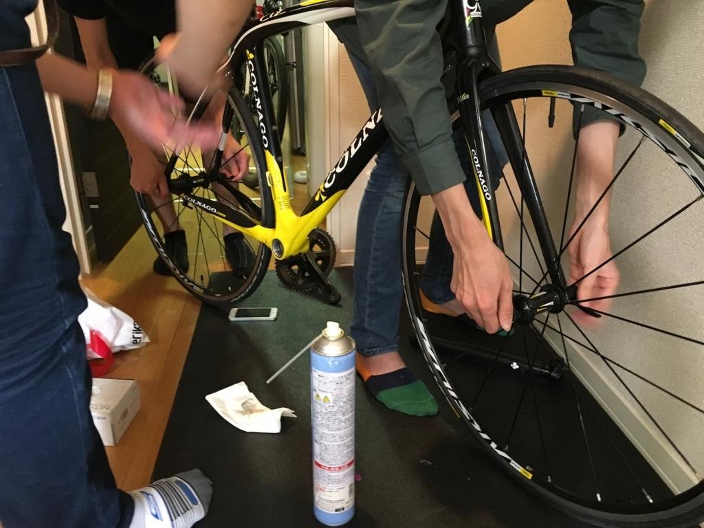 roadbike wheel