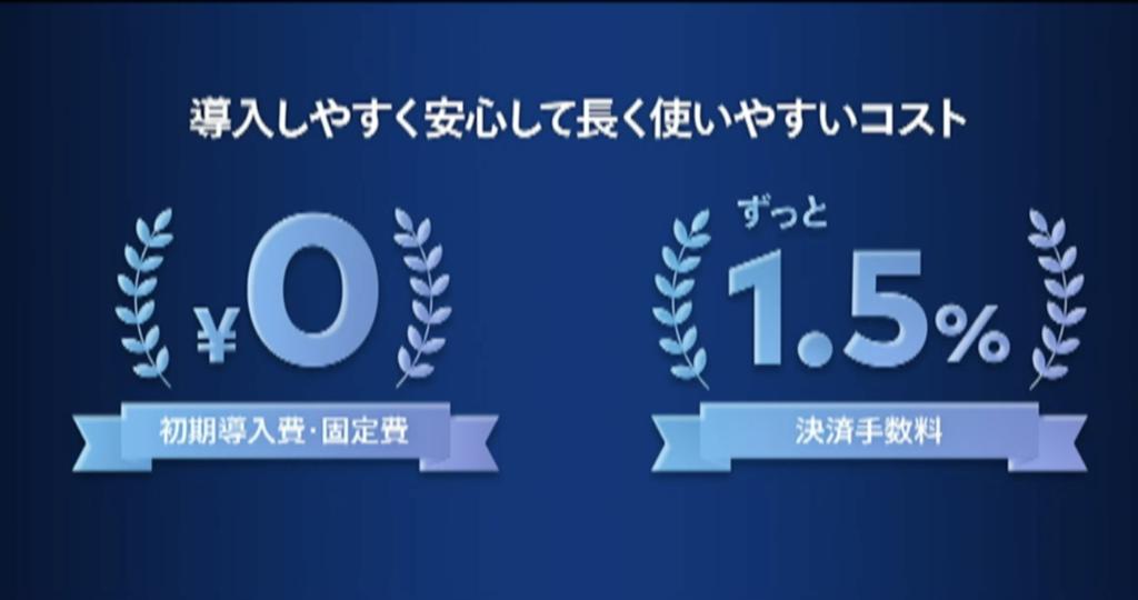 メルペイの初期手数料・固定費用は0円