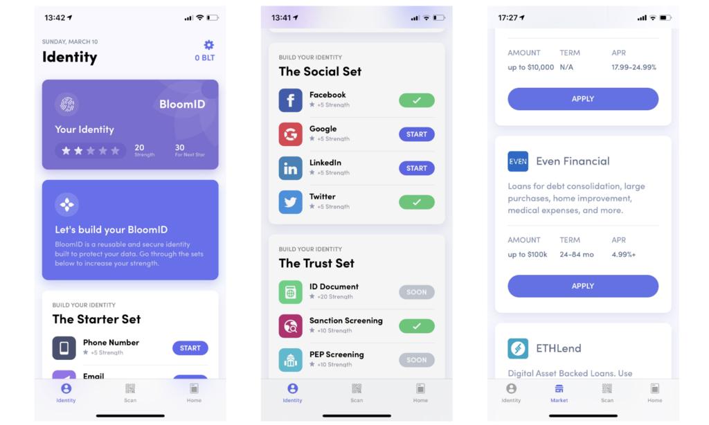 Bloom iOS アプリ画面キャプチャ