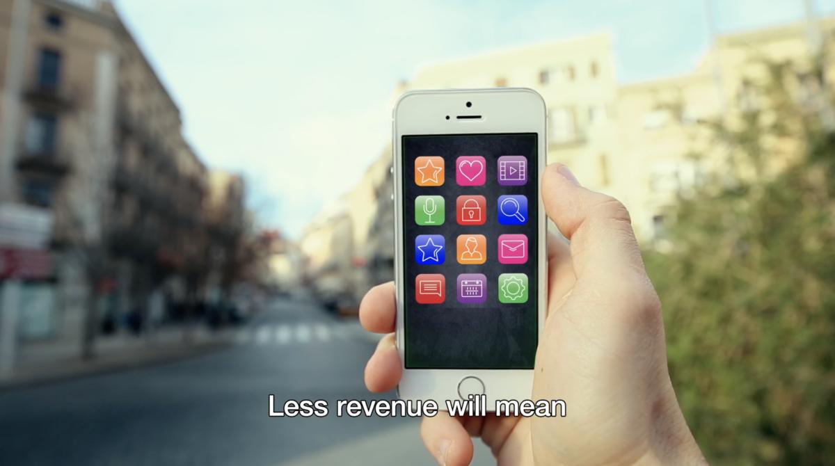 広告モデルで成立しているアプリが消えていく