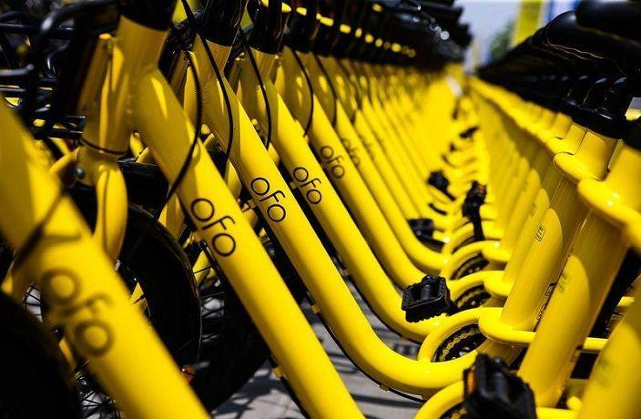 ofoは黄色い自転車がトレードマーク(出典:urbanfamily)