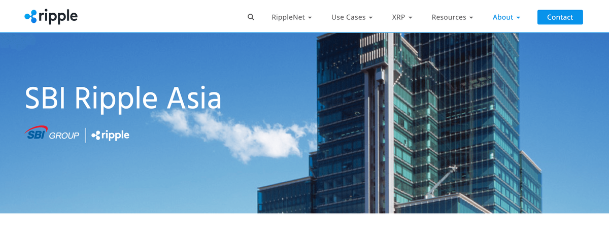 SBI Ripple Asia 株式会社
