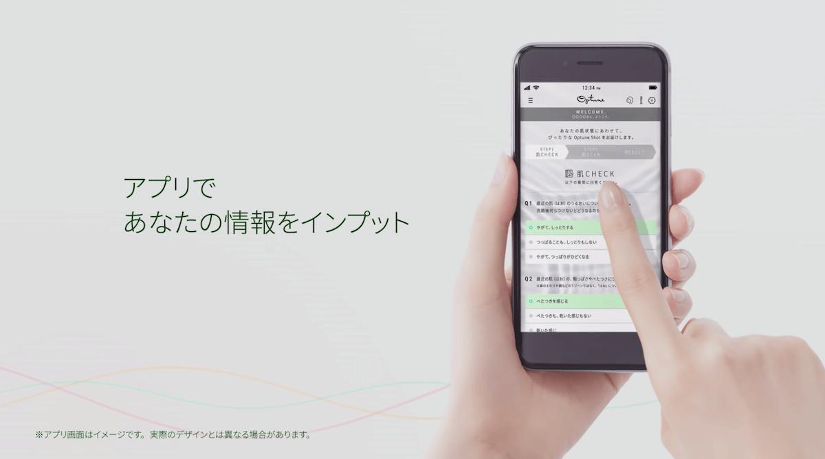 アプリ内入力データ