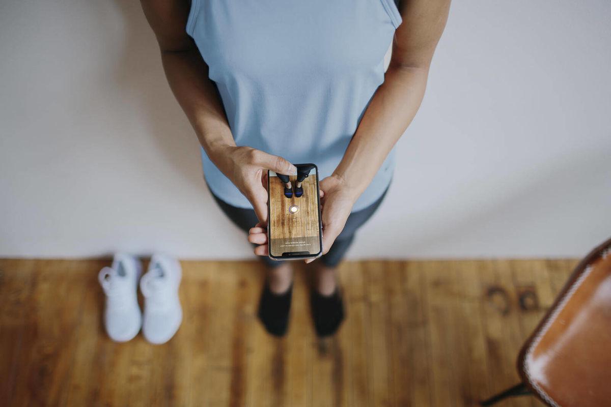 Nike Fit(ナイキフィット)は、長さと幅だけでは足のサイズを測れないという発想