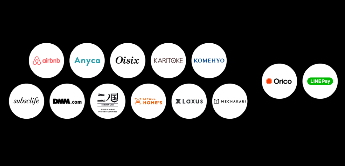 LINEスコアの提供先企業一覧(出典:LINEプレスリリース)