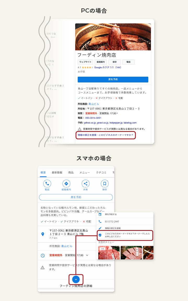 Googleマイビジネスのアカウント確認方法