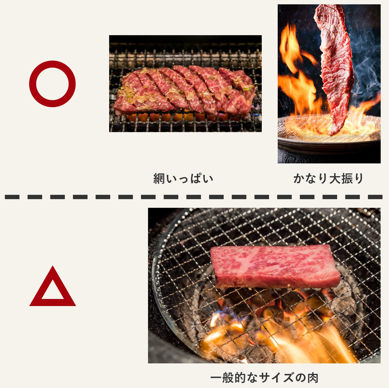写真撮影に適した肉の例