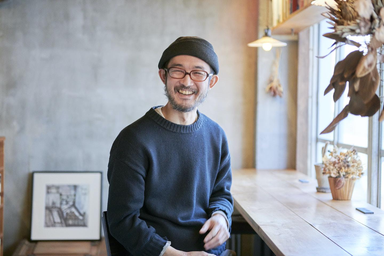 『本の読める店 fuzkue』店主 阿久津さんのプロフィール写真