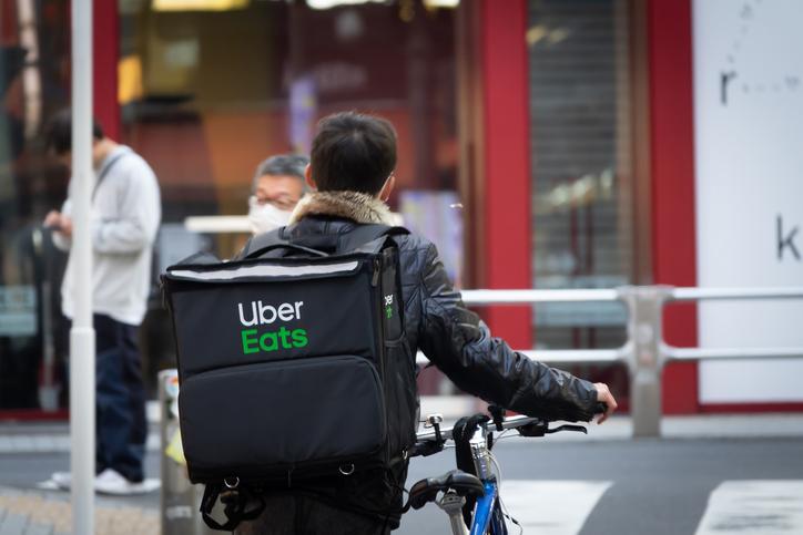 Uber Eatsの配達員(配達パートナー)