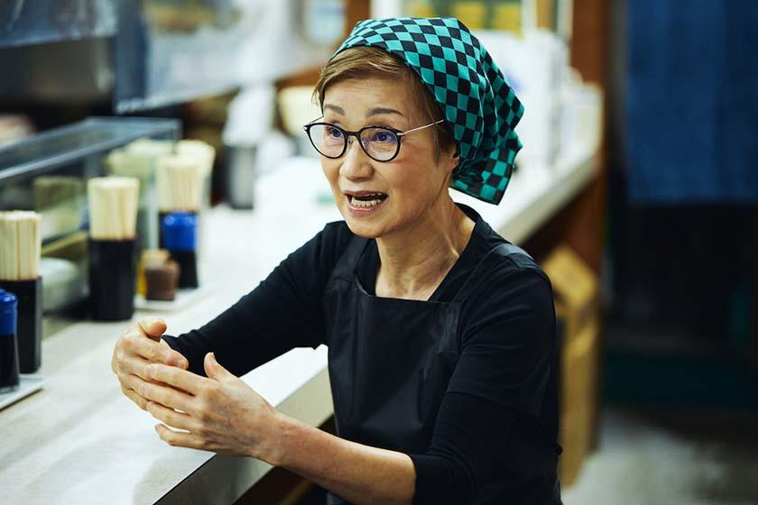 昭和35年創業の老舗『おにぎり ぼんご』の2代目店主の右近由美子さん