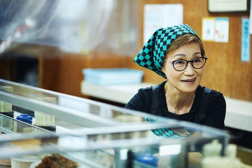 昭和35年創業の老舗『おにぎり ぼんご』の2代目店主 右近由美子さん