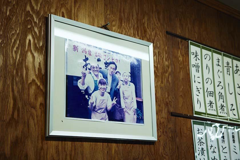 『おにぎり ぼんご』の創業者であり夫でもある右近祐さんと2代目店主由美子さん