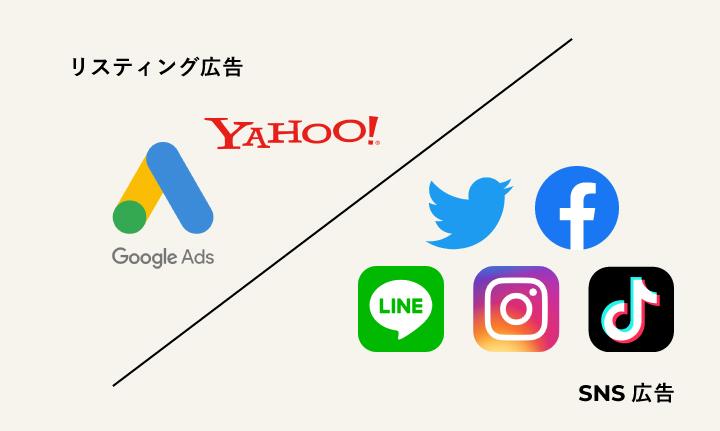 有料広告媒体例