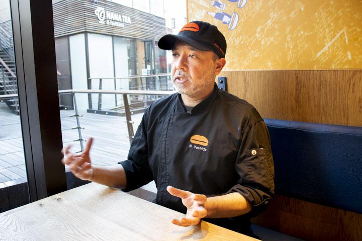 UMAMI BURGER JAPAN 取締役 吉田 ナワーフさん