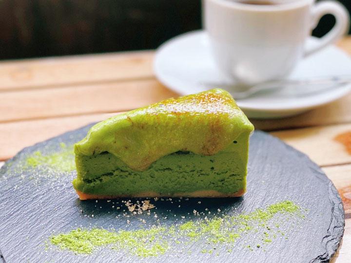 香るチーズケーキ(抹茶)