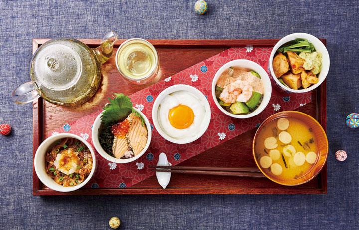「心尽くしの和ごはん 5種食べ比べ」ドリンク付き(税込1,980円)