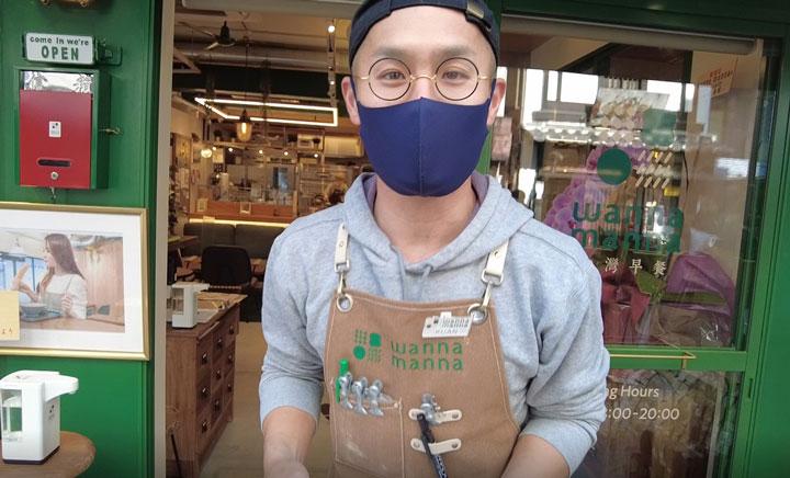 代表取締役 兼 wannna mannna店主の管卓明さん