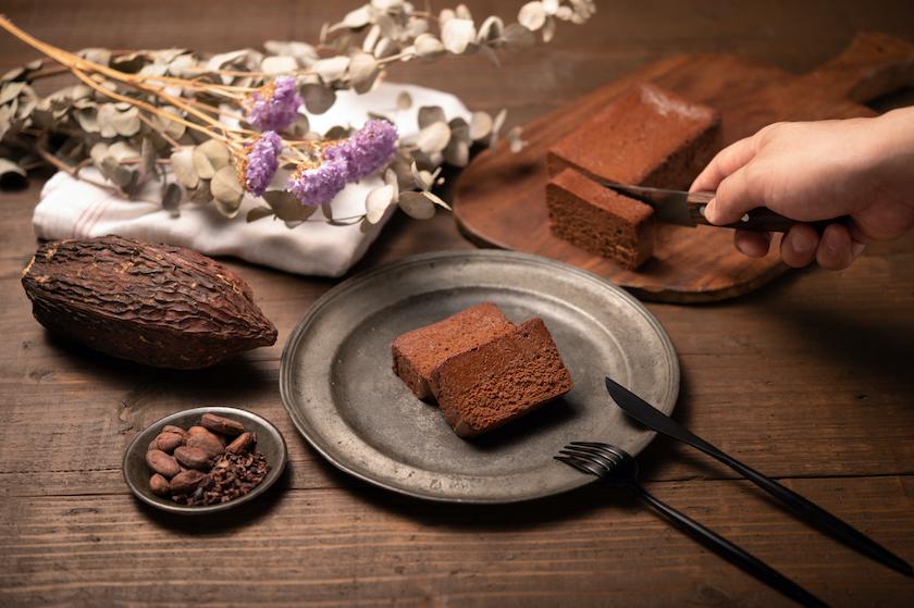 「THE chocola」の盛り付けイメージ