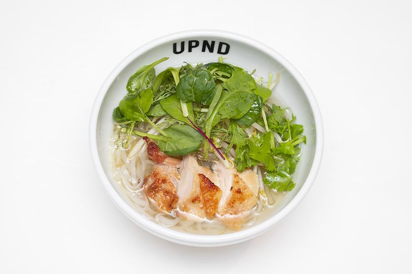 「UP Noodle TOKYO」の「ベトナムグリルチキンとハーブのフォー」