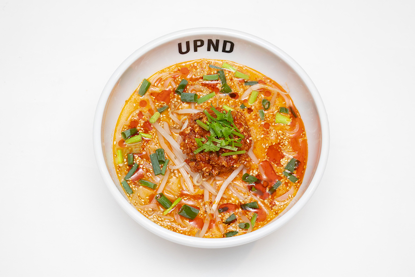 「UP Noodle TOKYO」の「レモングラス香る坦々フォー」
