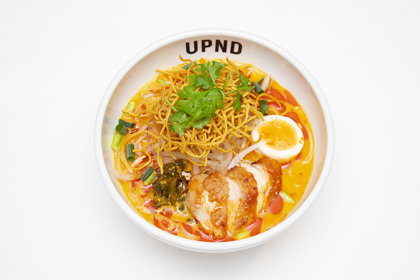 「UP Noodle TOKYO」の「濃厚ココナッツカレーのカオソイフォー」